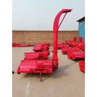 自卸式玉米秸秆粉碎回收机 四轮拖拉机带小麦牧草二次粉碎青贮机