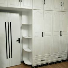 兔宝宝模压门衣柜 兔宝宝生态板衣柜 合肥全屋定制家具工厂