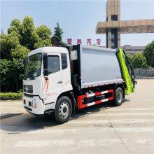新能源纯电动压缩垃圾车 天燃气压缩垃圾车厂家报价发配置