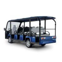 供应安步优品TSVGD14直流系统宝石蓝豪华14座电动观光车
