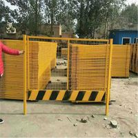 地铁施工基坑临边护栏 厂家批发工地浸塑围栏 临边防护栏