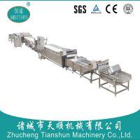 恒途牌TS-36型自动化薯条加工成套流水线(山东潍坊)