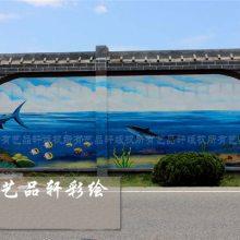 墙面彩绘-苏州艺品轩墙体彩绘-镇江墙面彩绘