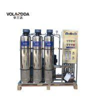 1吨每小时制水量商用净水器 华兰达大流量直饮纯水反渗透设备批发价