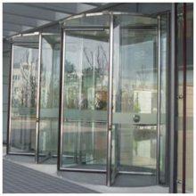 上海水晶旋转自动门/高端酒店旋转门/办公楼旋转门