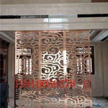 南昌 铝板雕刻镂空雕花屏风铝艺隔断屏风