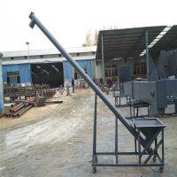 水泥粉密封管提升机 螺旋有轴倾斜加料机