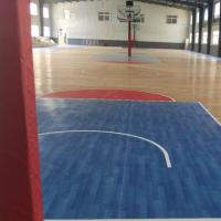供应上海欧宝瑞篮球球地板/pvc运动地胶/PVC塑胶地板