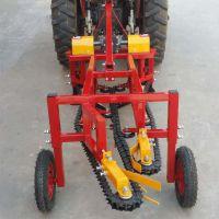 拖拉机收获机/花生收货机/拖拉机后置大蒜花生收获机/ 花生刨果机价格