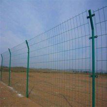 双边丝护栏网 高速公路防撞隔离护栏网 低碳钢丝围网现货