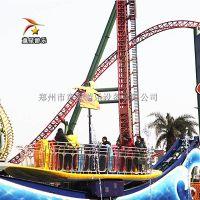 童星广场火爆游乐设备项目冲浪者省心的游乐设施