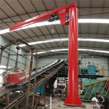 悬臂吊市场价格|货场BZD旋臂吊|0.5t固定式悬臂吊