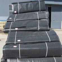 塑料排水凸片加盟销售 凹凸型排水板 遂宁塑料排水板批发什么价格