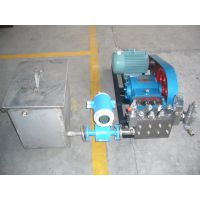 油田试压泵/高压试压泵管线试压/阀门试压泵