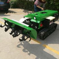 亚博国际真实吗机械 柴油开沟机 履带式硬土旋耕机 多功能柴油电启动回填机 价格