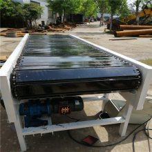 铸铁件链板式输送机 水平用铁板输送机Lj1