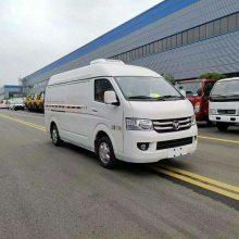 国六福田G7面包冷藏车配置图片