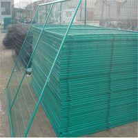 边框护栏网 铁丝框架护栏网 运动场隔离栅