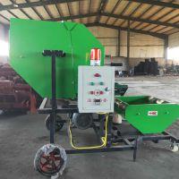高品质苞米秸秆粉碎青储打捆包膜机 曲阜市澜海机械