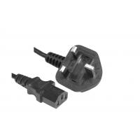 广州惠信通供应BS插头/英国插头/英式插头线/英国电线