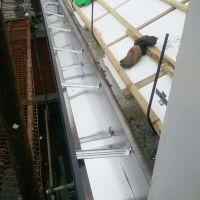 保定房檐水槽铝合金成品天沟排水槽落水系统