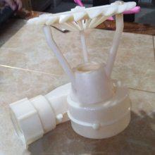 冷却塔塑料喷头_三溅式喷头_顶丝插接喷头ABS材质 亿恒制造