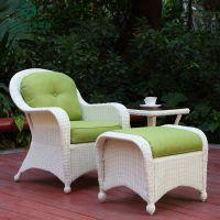 藤椅三件套阳台休闲藤沙发藤椅脚踏组合室内外花园休闲藤编椅新款