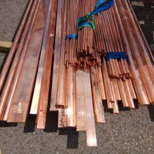 c1020无氧铜排 接地导电紫铜排 现货供应T1紫铜排 紫铜棒