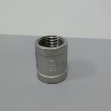 湛江SUS304不锈钢直通 304不锈钢1寸直通 丝扣铸件DN25直通
