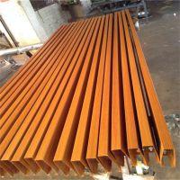 北京仿木纹铝方通装潢 烤漆铝方管供应商