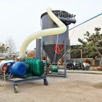 滑石粉装罐车负压输送机 QF60吨水泥气力输送机