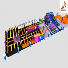 室内蹦床公园/大型成人蹦床主题公园/室内蹦床设备/商场淘气堡室内儿童乐园
