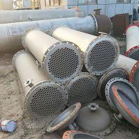 购销二手不锈钢高压冷凝器 管式换热器 搪瓷冷凝器