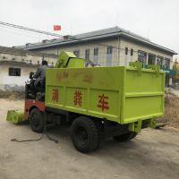 禽畜养殖场专用大功率清粪车 猪场地面粪便刮粪车 中泰机械