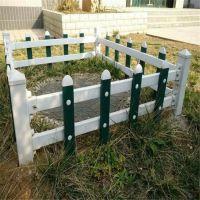 PVC道路围栏 河北草坪护栏厂家 中心隔离栏杆