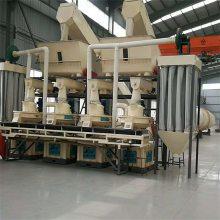东北大型玉米秸秆颗粒机生产线配置,家具厂下脚料制粒机