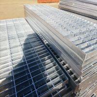 海唐钢格板工厂直发内蒙电厂检修平台板热镀锌踏步板