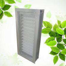 信贝过滤器厂家生产非标定制可更换式风管空气过滤器 抽拉式风管过滤段 初效空气过滤器