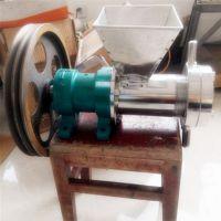 小本生意用的面粉膨化机 干面粉直接膨化的糖酥粽子机 辣皮机