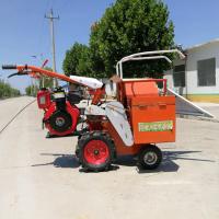 新型玉米收获机玉米收割机 18马力单缸小四轮拖拉机配套玉米收获机