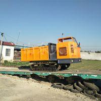 山地3吨履带运输车 山东大鼎生产履带运输车 小型农用自卸车价格