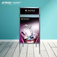 郑州商场广告牌海报架*可移动海报架厂家直销