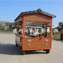 天水餐车-润如吉餐车-餐车小吃车内部图片