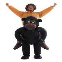 创意充气服装 猩猩充气服装动物背人搞笑表演服装道具舞台装扮