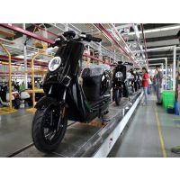 供应皓诚电动车装配线 两轮电动摩托车生产线 链板装配生产线输送机