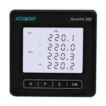 供应爱博精电Acuvim200三相多功能电力仪表,可选无线通信