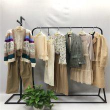 苏昔品牌折扣女装批发尾货实体店加盟甜美风t恤半身裙走份
