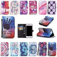苹果7/plus 创意卡通彩绘皮套5S 6S/plus Touch5/6手机保护套现货