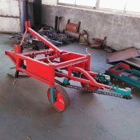 拖拉机自走式花生收获机 长果收获机 链条式花生收获机