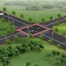 道路交通设施杆件多杆合一路灯生产厂家定制 江苏斯美尔光电科技有限公司